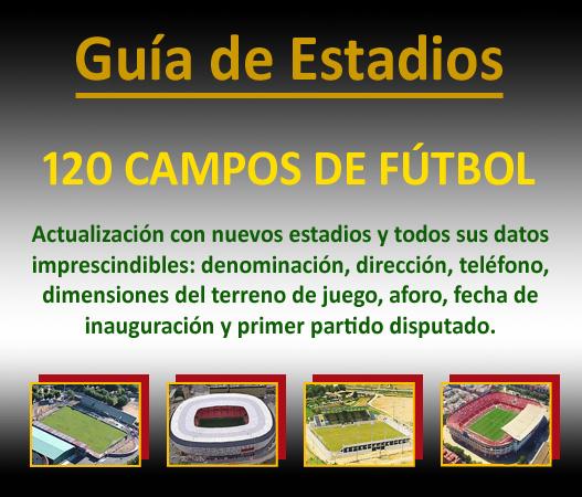 Actualizacion Guia de Estadios