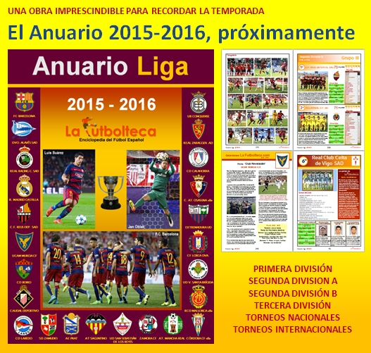 anuncio Anuario 2015-2016 proximamente
