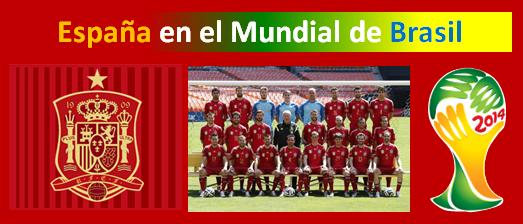 Espana en el Mundial de Brasil 2014