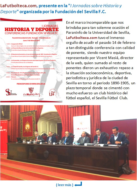 Conferencias Fundacion Sevilla FC