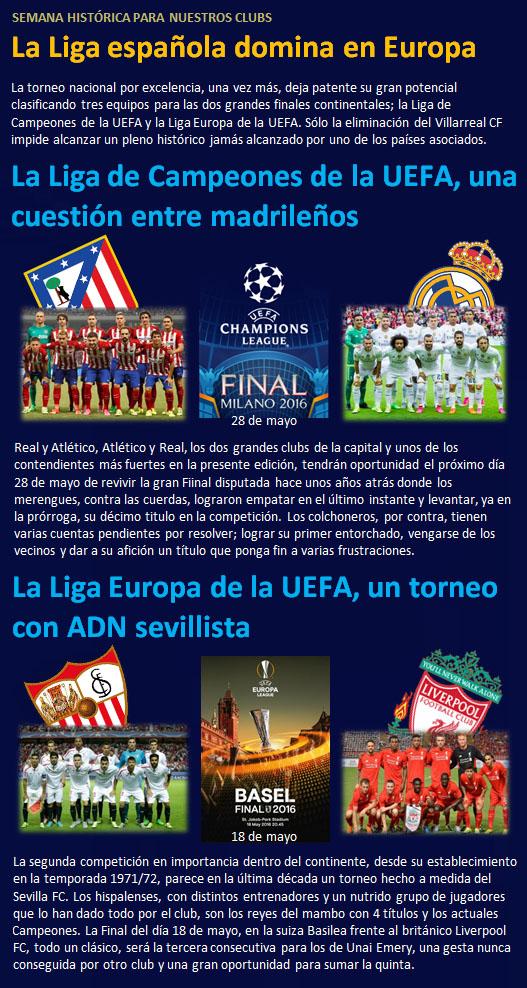 noticia La Liga domina en Europa