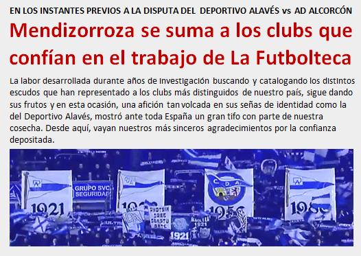 noticia Mendizorroza confia en el trabajo de LaFutbolteca