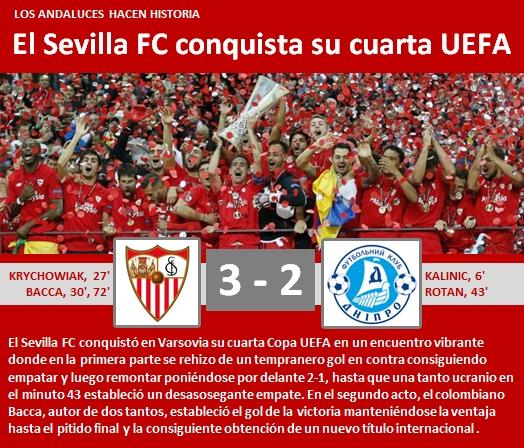 SFC conquista su cuarta UEFA