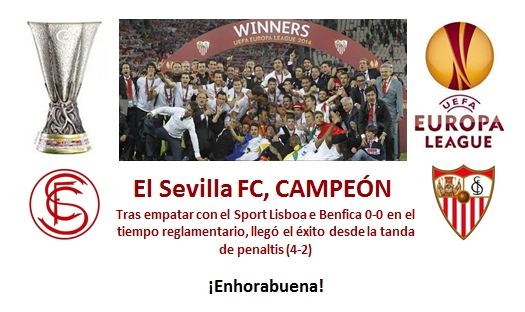 Sevilla Campeon UEFA Europa League