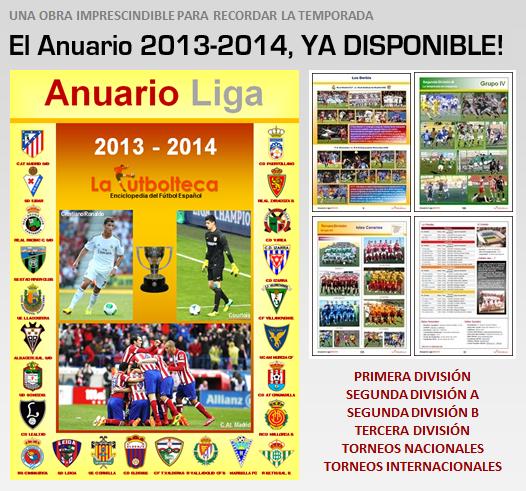 Anuario 2013-2014 ya disponible