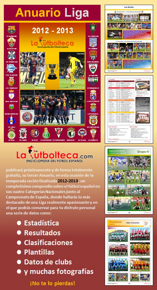 anuncio Anuario Liga 2013