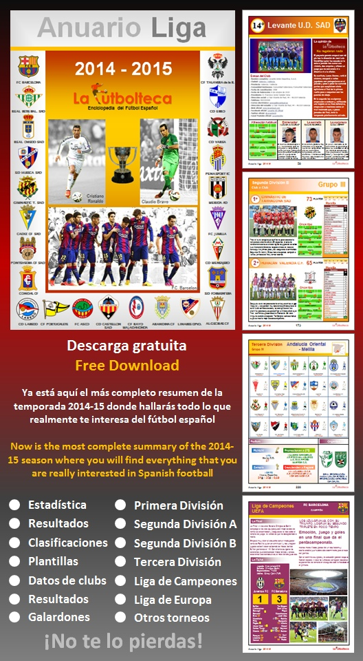 anuncio Anuario Liga LaFutbolteca 2015