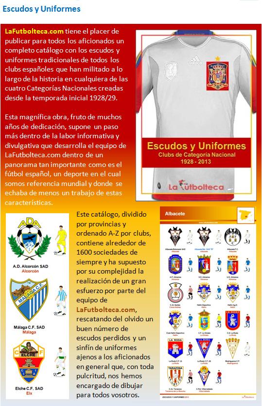 Catalogo Escudos y Uniformes 2013