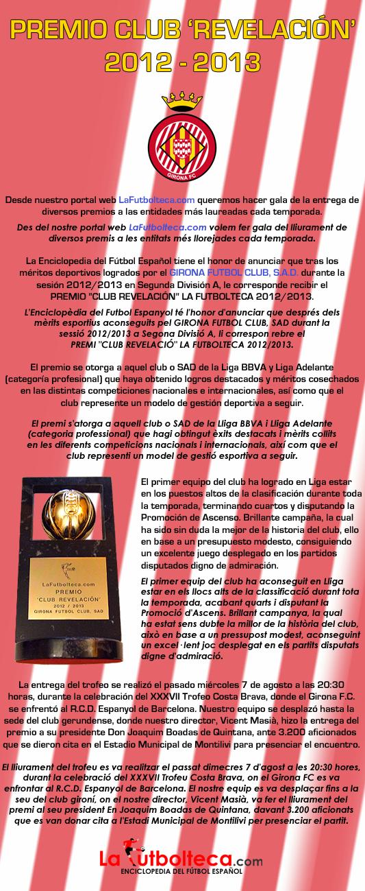 anuncio Club Revelacion 2013 Girona