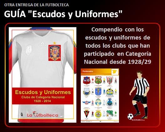 anuncio Guia Escudos y Uniformes 2014