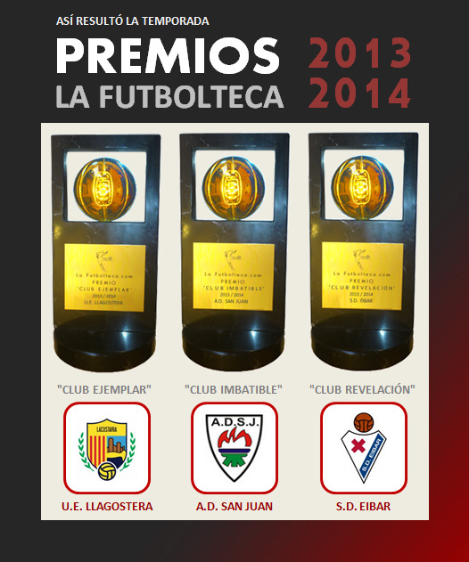premios la futbolteca 13-14