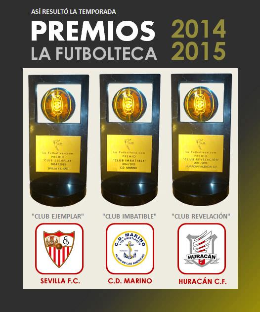premios la futbolteca 14-15
