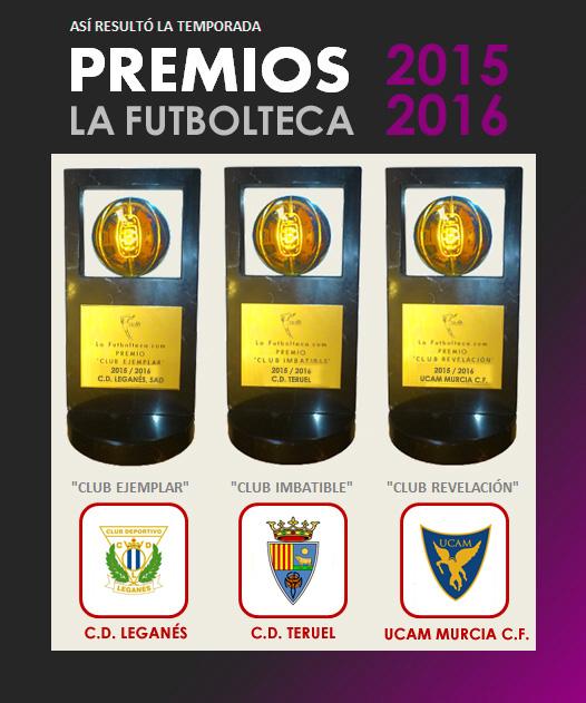 premios la futbolteca 15-16