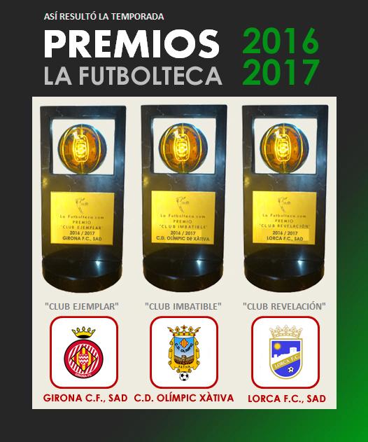 premios la futbolteca 16-17