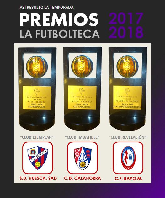 anuncio Premios La Futbolteca 2017-2018