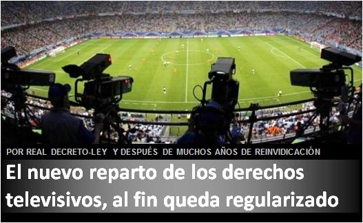 anuncio Reparto Derechos Televisivos