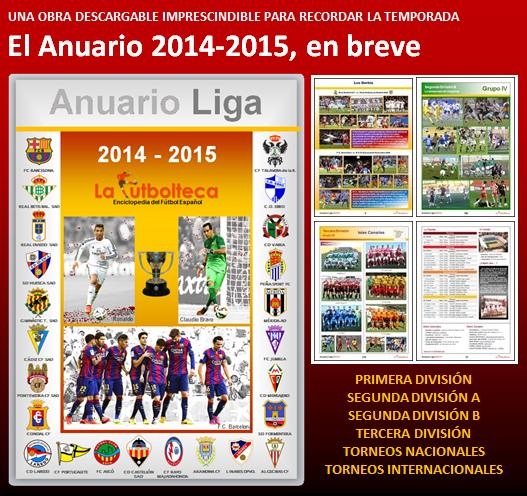 anuncio anuario 2014-2015 en breve