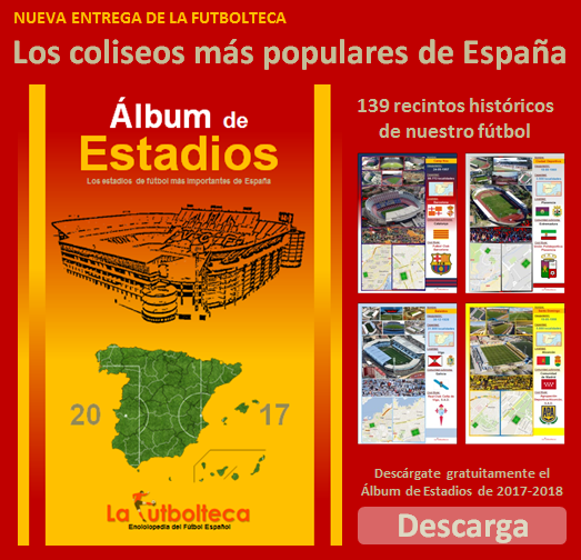 descarga Album Estadios 2017 LaFutbolteca