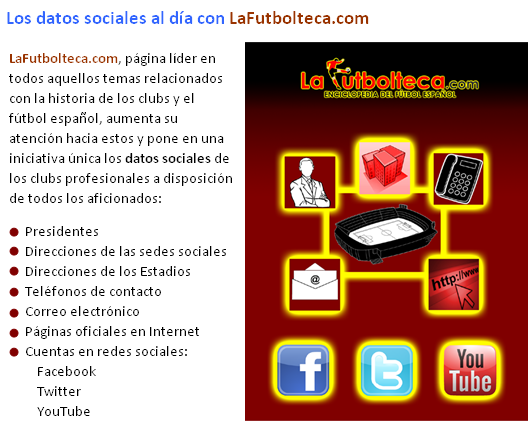 datos sociales clubs profesionales