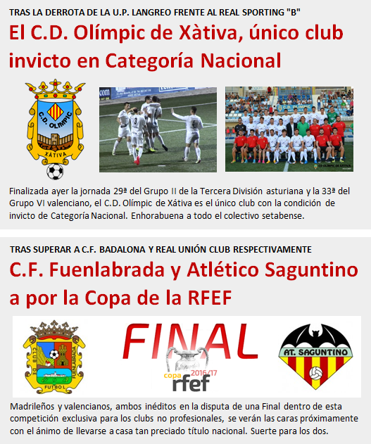 noticia CD Olimpic invicto - Final Copa RFEF
