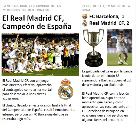 noticia Real Madrid Campeon