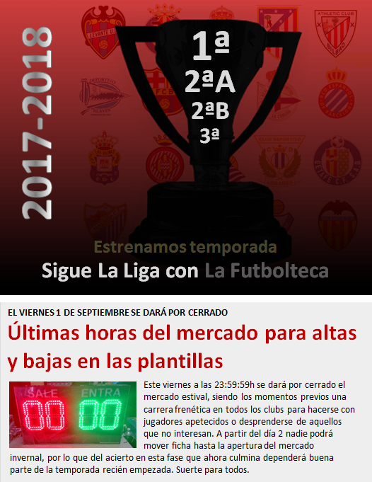 noticia sigue la liga con lafutbolteca