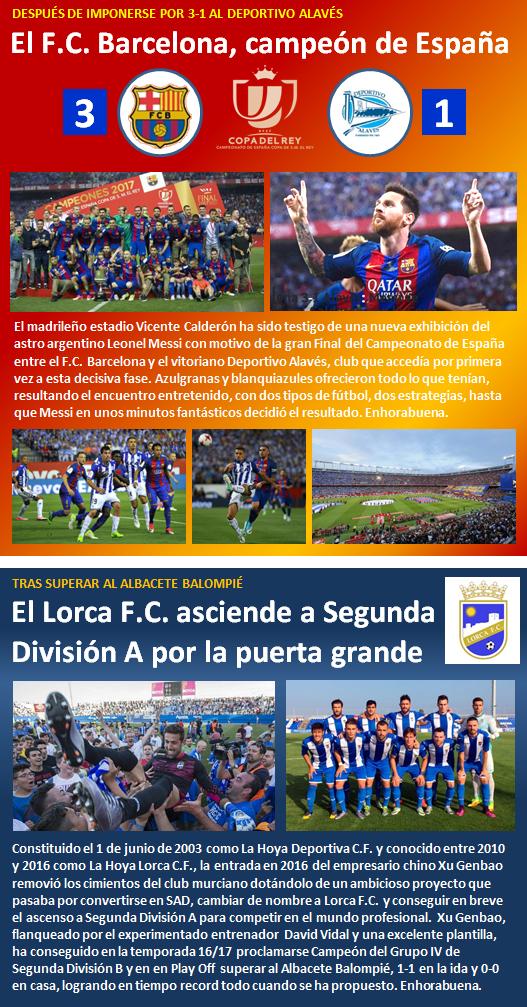noticia Lorca FC asciende Segunda Division