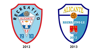 escudos Alicante Recreativo CF
