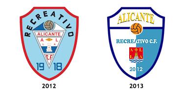 escudos Alicante Recreativo CF