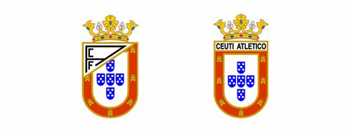escudos AD Ceuta fundadores