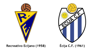 escudos Recreativo Ecijano - Ecija CF