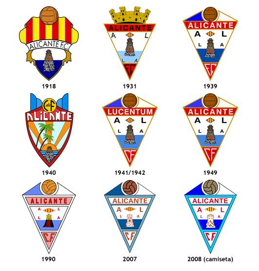 escudos Alicante CF