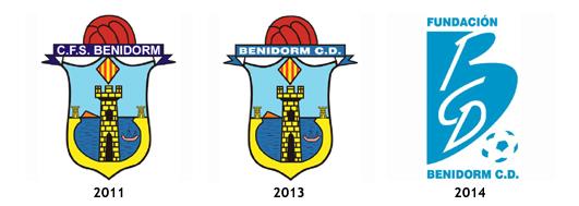 escudos CF Sporting Benidorm