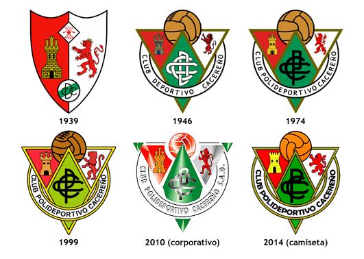 escudos CP Cacereno