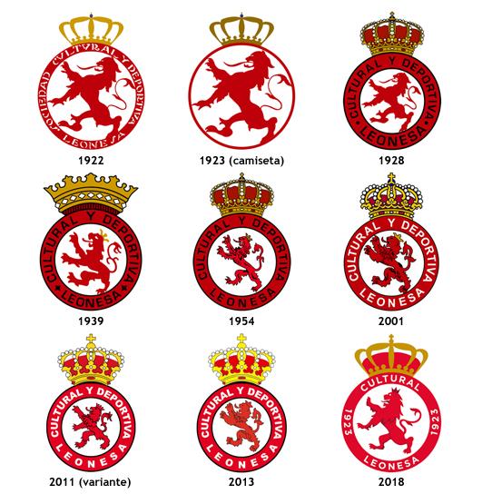 escudos Cultural y Deportiva Leonesa