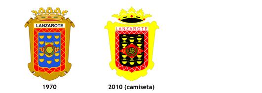 escudos UD Lanzarote