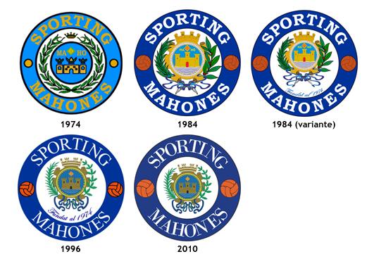 escudos CF Sporting Mahones