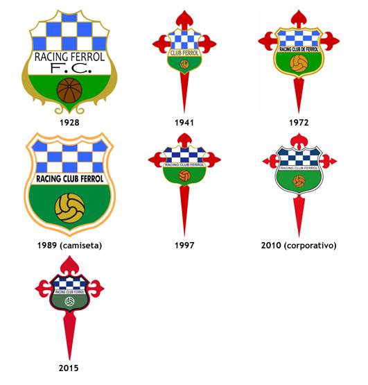 escudos Racing Club Ferrol