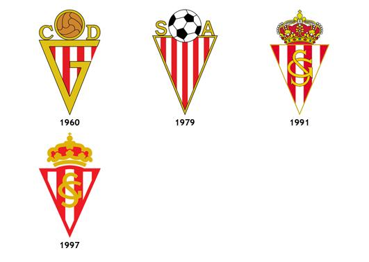 escudos Real Sporting de Gijon B
