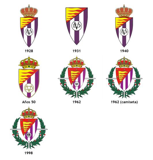 escudos Real Valladolid CF