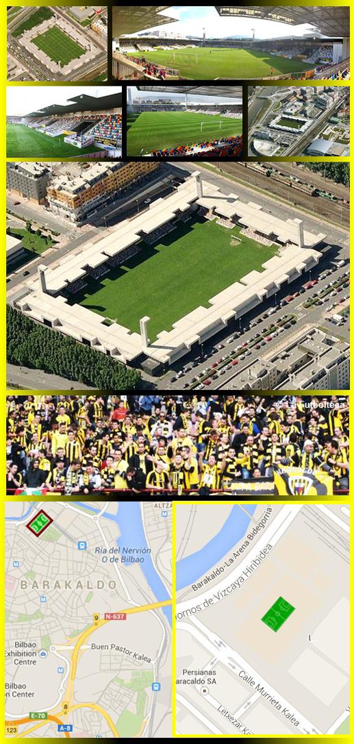 Estadio Nuevo Lasesarre Barakaldo C.F.