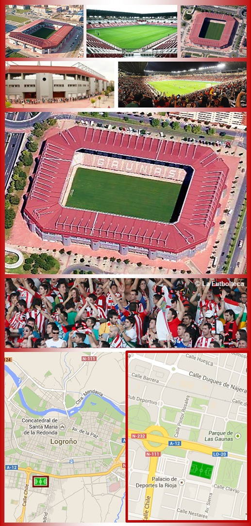 Estadio Las Gaunas UD Logroñés