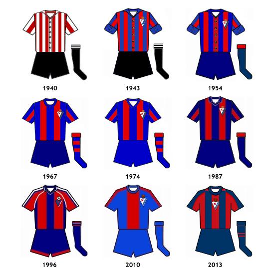 uniformes SD Eibar