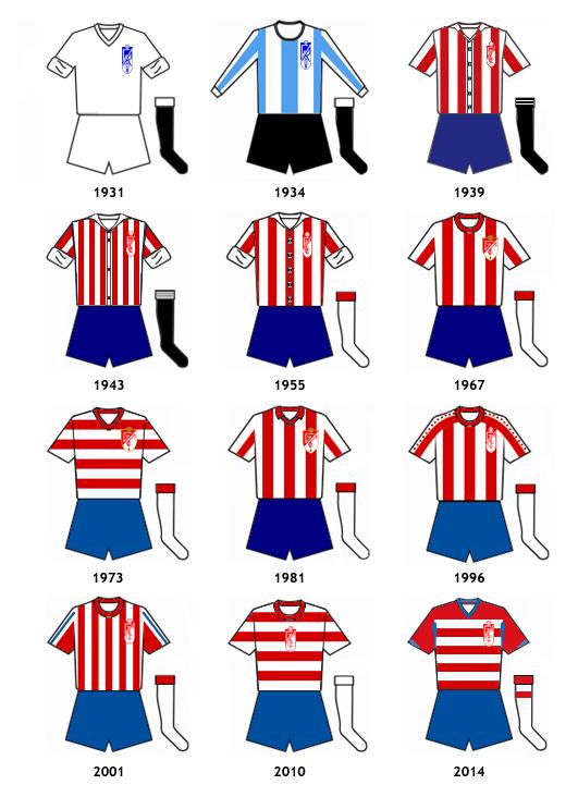 uniformes Granada CF