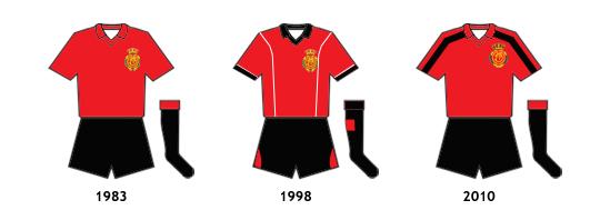 uniformes RCD Mallorca B