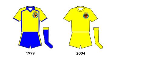 uniformes Villarreal B