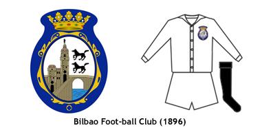 escudo y uniforme Bilbao FC 1896