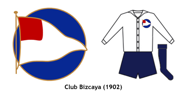 escudo y uniforme Club Bizcaya 1902