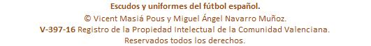 Copyright Escudos y uniformes LaFutbolteca.com