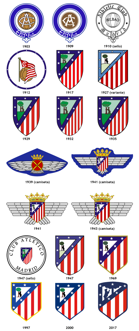escudos Club Atletico Madrid